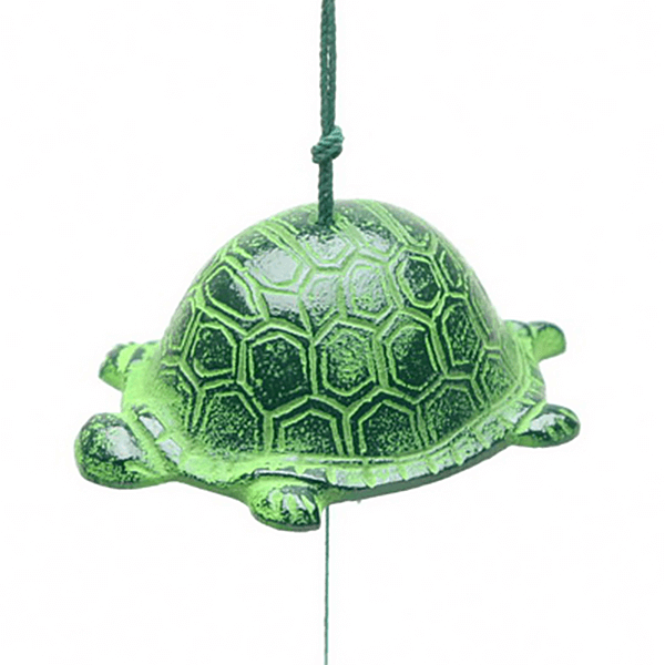Wind Chime Green Turtle-L