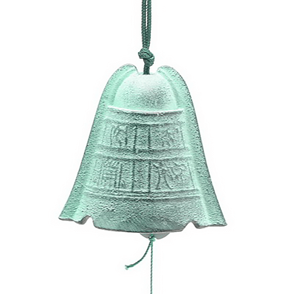Wind Chime Blk/Green Yayoi Bell