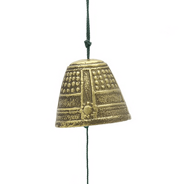 Windchime Gold Temple Bell-M