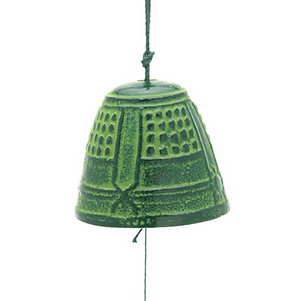 Windchiime Green Temple Bell-M