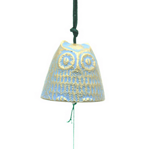 Windchime Gold/Blue Owl-S