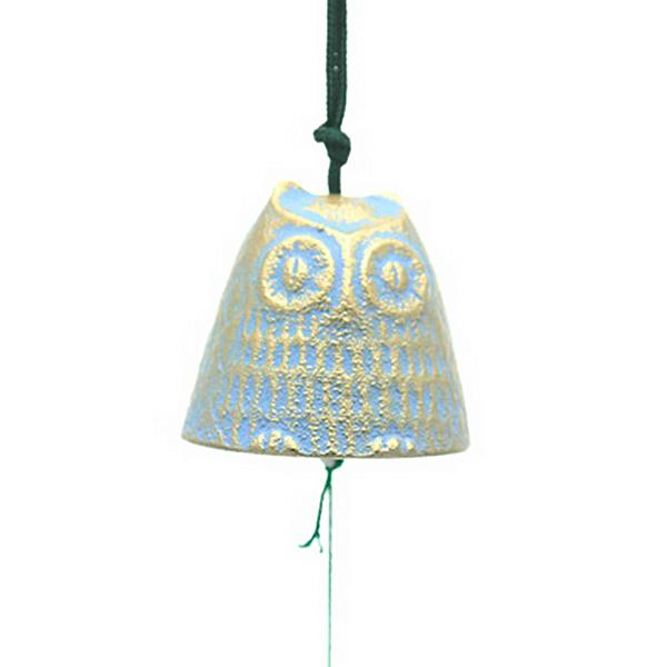 Windchime Gold/Blue Owl-S
