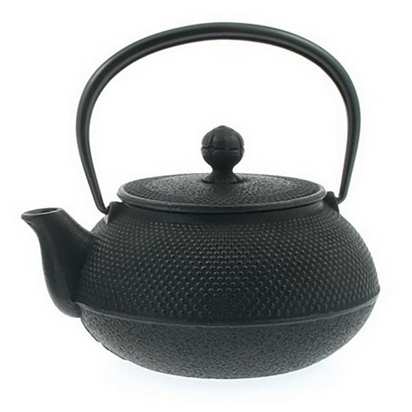 Cast Iron Tea Kettle Hobnail 0.9L (Stovetop Safe)