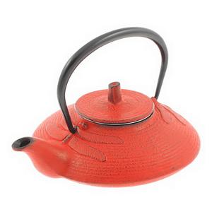 Cast Iron Tea Pot Cinnabar Dragonfly 0.5L