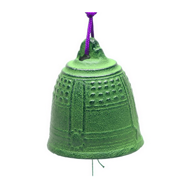 Wind Chime Green Temple Bell-XL