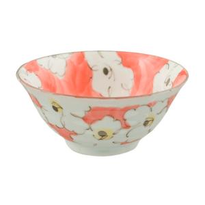 Tayo Bowl Set of 4 Pink Flower